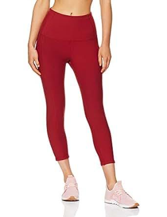 Lorna Jane Women's Flex It Core 7/8 Tight, Dark Red, XS