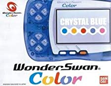 WonderSwan Color - Crystal Blue (Japanese Import Video Game Handheld)