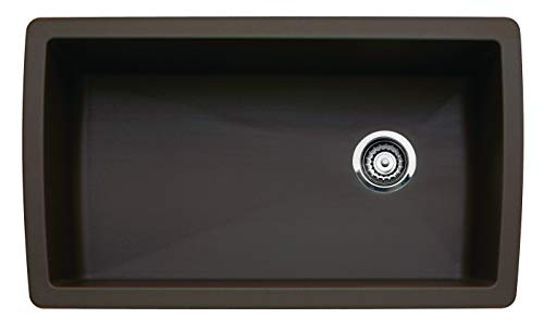 Blanco 441771 Diamond Super Single Bowl Sink, Cafe Brown