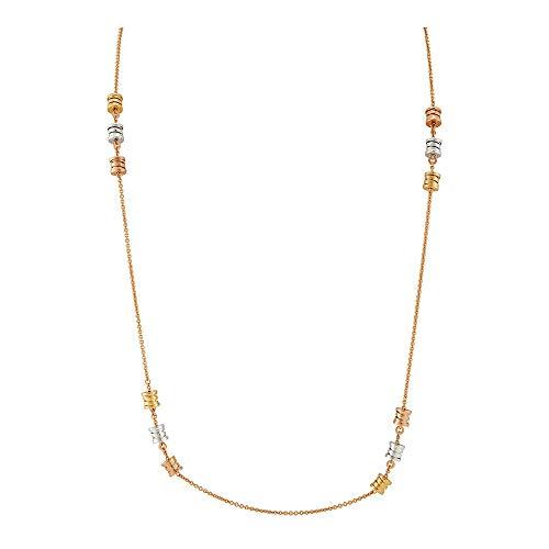 BVLGARI - B.zero1 18K Rose Gold Sautoir Necklace (Bvlgari 18k Gold Case)
