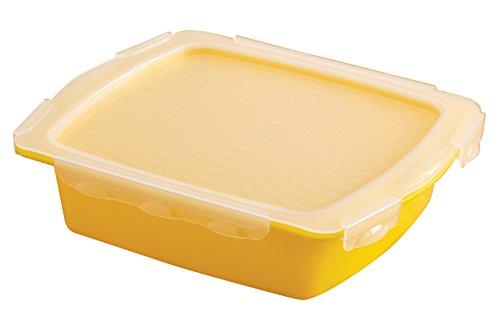 Mr. Bar-B-Q 40248X Mini Flip & Flavor Marinade Tray, Yellow