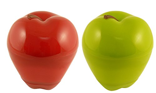 (Hutzler Apple & Dip to -go Red and Green 2pc set )