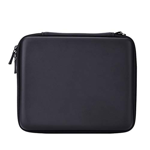 Zip Case Eva Dsi (Weite Portable Carrying Case Compatible with Nintendo 2DS, 8 Internal Game Cartridges Protective Hard EVA Shell Travel Bag Zipped Storage Pouch for Nintendo Switch (Black))