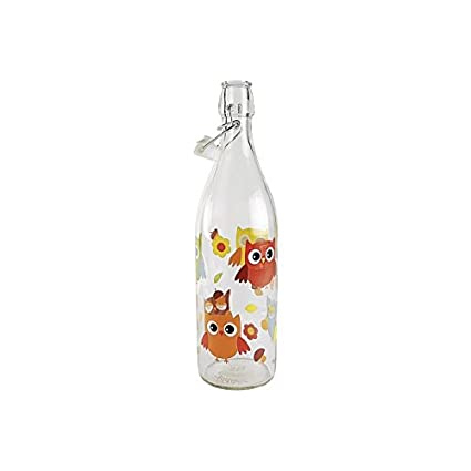 Cerve M285332 - Botella decorada lory 1l m46380 buhos