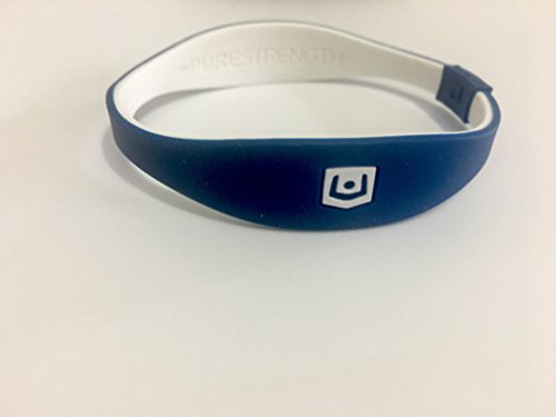 Purestrength Ion Sports Wrist Band Edge Series (Blue/White)