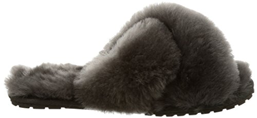 Mayberry EMU in Sheepskin Wine Slipper Womens Charcoal Red Australia Slippers CxgqwtH