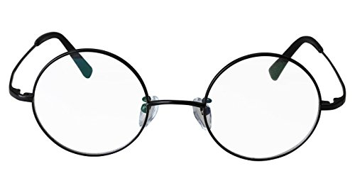 Clear Black Optical Retro Pure Titanium Lens 44mm Eyeglasses Frame ...