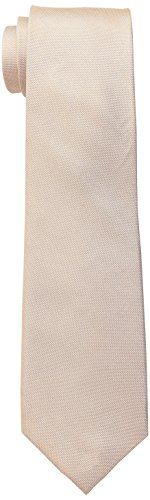 Ben Sherman Men's Belem Solid 100% Silk Skinny Tie, Sand, One Size (Solid Tie)