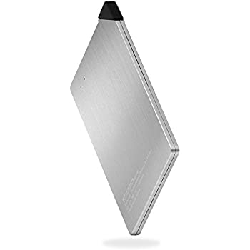 Credit Card Thinnest Power Bank , Lanyos Battery Pack 1300mAh Wallet Sized Portable External Battery Charger