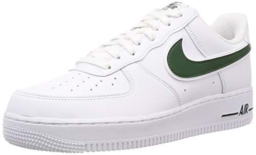 Nike Air Force 1 '07 3 Mens Sneakers AO2423-104, White/Cosmic Bonsai, Size US 12 (Us-104)