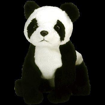 Amazon.com  Retired China the Panda Ty Beanie Baby  Toys   Games 44e9c583512
