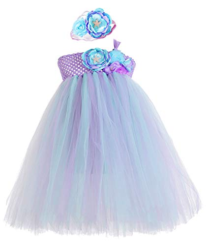 Tutu Dreams Teen Mermaid Tutu Costume for Girls Size 10-12 Teens Mermaid Dress Ocean Princess Prom Ball Gown Dance (12, -