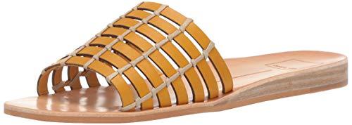 Dolce Vita Women's COLSEN Slide Sandal Honey Leather 5.5 M US from Dolce Vita