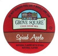 (Grove Square SPICED HOT APPLE CIDER - 12 cups)