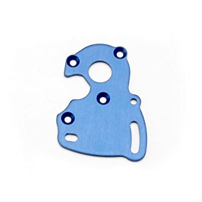 Traxxas 7090 Blue-Anodized Aluminum Motor Plate: Toys & Games