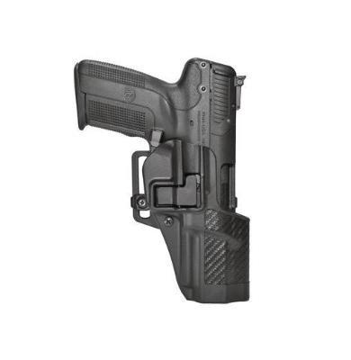 BLACKHAWK! Serpa CQC Carbon Fiber Appliqué Finish Concealment Holster, Size 25, Right Hand, (Smith & Wesson M&P 9/40 & Sigma)