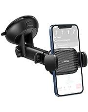 UGREEN Auto Telefoonhouder Zuignap Windscherm Voorruit Dashboard Car Holder Compatibel met iPhone 12 Pro Max SE 11 XS XR Galaxy F52 M42 M12 F12 Redmi K40 Mi 11X Pro Huawei nova 8 Pro Mate40E