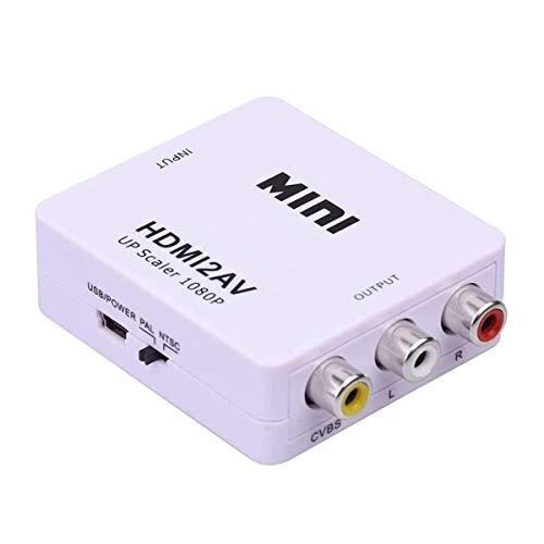 HDMI to RCA, HDMI to AV,1080P HDMI to 3RCA CVBs