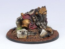 Privateer Press - Warmachine - Protectorate: Light Warjack Wreck Marker Model Kit 3