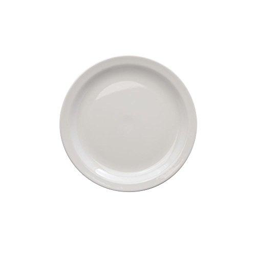 "Homer Laughlin Arctic White China Dinner Plate - 10 1/2""Dia"
