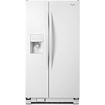 Whirlpool WRS325FDAW 25.4 Cu. Ft. White Side-By-Side Refrigerator Energy Star