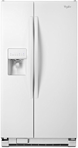 Whirlpool WRS325FDAW 25.4 Cu. Ft. White Side-By-Side Refrigerator - Energy Star