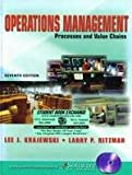 Operations Management : Strategy and Analysis, Krajewski, Lee J. and Ritzman, Larry P., 0131436643