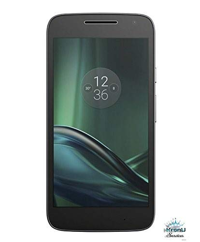 Motorola Moto G4 Play (4th Generation) 16GB Unlocked Smartphone for GSM Carriers Worldwide - Black