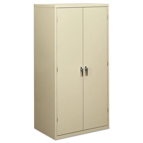 Hon 10500 Series Wood - HON Brigade Series Five-Shelf Storage Cabinet - High Storage Cabinet, 36w by 24d by 72h , Putty (HSC2472)
