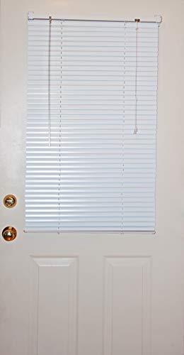 Window Metal - MagneBlind Magnetic Mini Blinds for Metal Door (Half-Length) 25