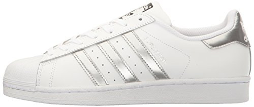Adidas Femme Sneakers silver Superstar silver Basses White W AwPwxIqr