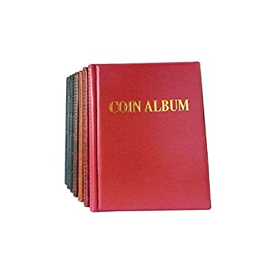 Photo Album Coin Album 250 Openings World Coin Stock Collection Protection Album and Banknote Album