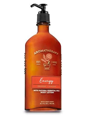 - Bath and Body Works Aromatherapy Body Lotion Energy - Orange Ginger - 6.5 fl oz / 192 mL