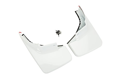 GM Accessories 22902392 Front Molded Splash Guards in Summit White (Best Hummer In The World)