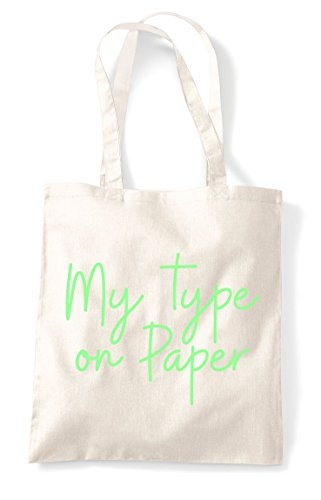 Bag Quote Tote Shopper On Hashtag Paper Statement Type My Natural BxwqA0C6q