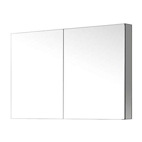 Virtu J-MED01A40 Confiant Mirrored Medicine Cabinet Recessed or Surface Mount, 40