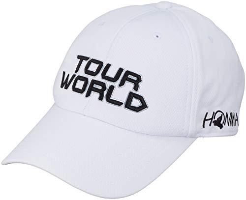 本間ゴルフ TOUR WORLD 831-419601 メンズ ホワイトブラック FREE(57~59cm)