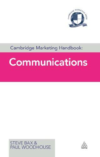 Cambridge Marketing Handbook: Communications (Cambridge Marketing Handbooks) Pdf