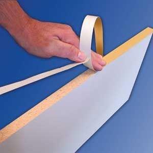 Fastedge Edge - FastCap FE.SP.15/16-250.WH 15/16 x 250' FastEdge PVC Edgebanding, White