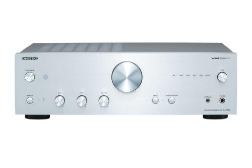 Onkyo A-9030 (S) integrierter Stereoverstärker (WRAT, 65 W/Kanal) silber
