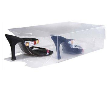 20cajas de almacenamiento transparente de zapatos para mujer con 20 divisores gratis TallerHeels L20