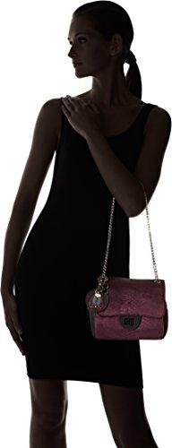 épaule Chain Side Lollipops Sac Velvet Violet porté Plum Alix PqFRwYR1