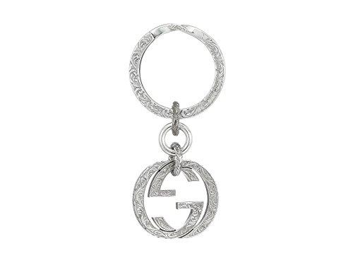 Gucci Women's Interlocking Key Ring Silver
