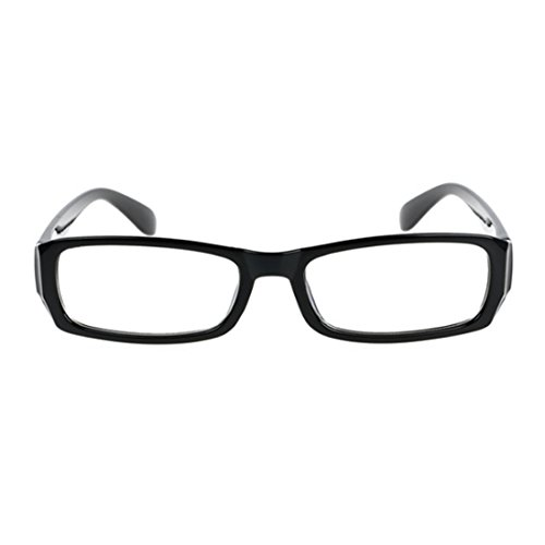 Rectangle myopie Plein À lunettes Femme Lentille Brillant de résine mâle Verres de cadre pour cadre Des la mode MUCHAO Noir la Vintage métallique PAfvXwwq