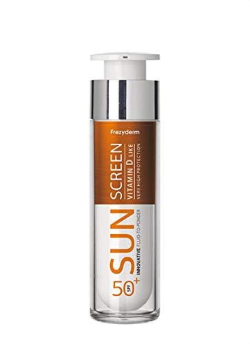Frezyderm Sunscreen Fluid to Powder Vitamin D-Like SPF 50+ 50ml