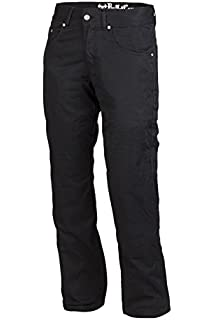 UK Regular W30 Bull-it Men Cargo SR6 Black motorcycle Trousers