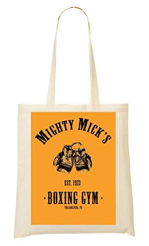 De Bolso Mano Logo Boxing La Compra Mick's De Gym Mighty Bolsa wqX66I