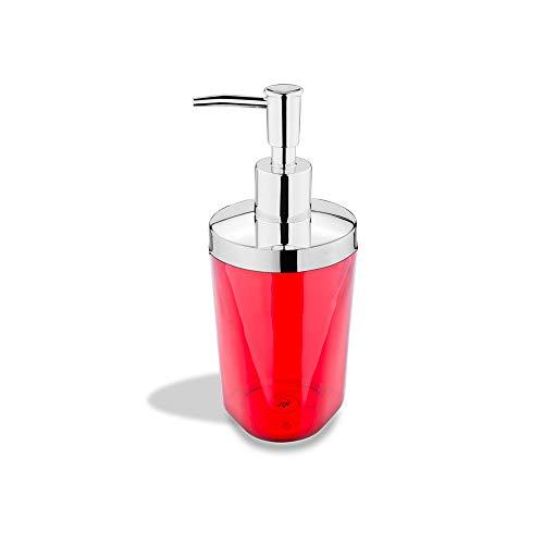 Porta Sabonete Liquido Atria - Vmt Brinox Atria Vermelho