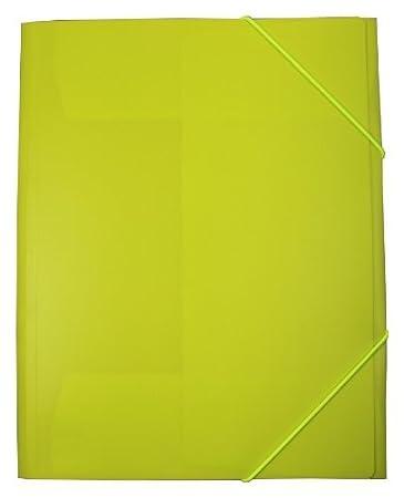 exxo by HFP/ /Cartellina con elastico//Elasticizzato cartella A4/in plastica rigida black