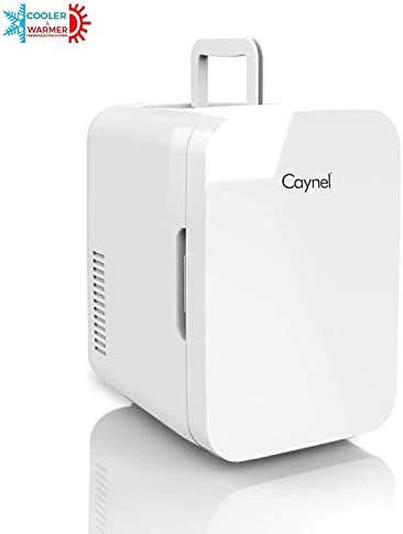 Caynel Mini Fridge Cooler and Warmer, (6 Liter / 8 Can